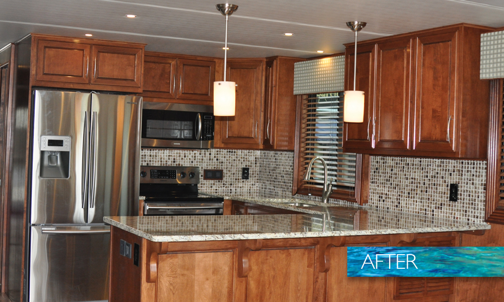 Renovations – Trifecta Houseboats